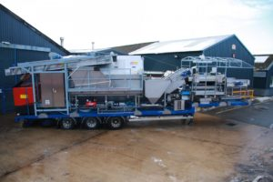 Mobile Vegetable Washer - Tong Engineering