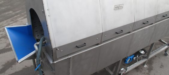 RUBBER-LINED INFEED