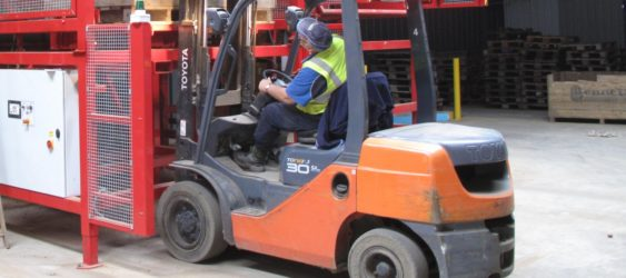 REDUCED FORKLIFT MOVEMENT
