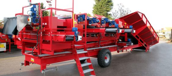 Bulker Mobile Vegetable Sizer