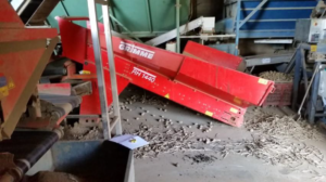 Used Grimme Hopper - Potato Grader | Tong Engineering