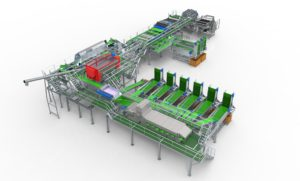 Tong-potato-and-vegetable-washing-grading-and-packing-line-3D-CAD-design