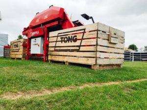 Potato Box Filler Tong box filling equipment