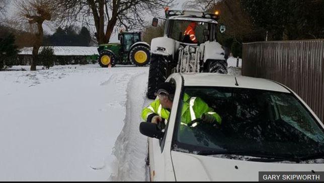 Tractors Snow 2018