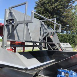 Used Tong Peal Bulk Unloading Hopper