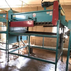 Used Haines Flat Bed Brush Washer